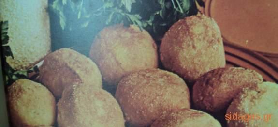 Κροκέτες πατάτας - www.sidages.gr