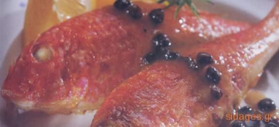 Ψάρια σαβόρο Λευκάδας - www.sidages.gr