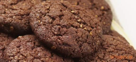 Μπισκότα σοκολάτας - Choc cookies - συνταγές μαγειρικής & ζαχαροπλαστικής