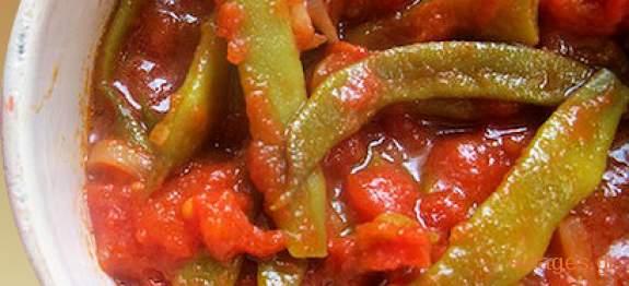 Φασολάκια λαδερά - συνταγές μαγειρικής - λαδερά