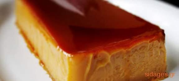 γλυκό Φλαν - συνταγές ζαχαροπλαστικής - επιδόρπια