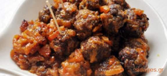 Κεφτέδες φούρνου - www.sidages.gr