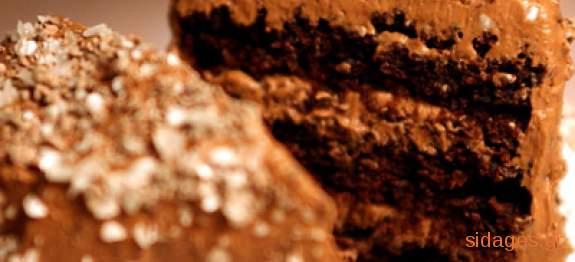Κέικ σοκολάτα με μέντα - γλυκά - συνταγές ζαχαροπλαστικής