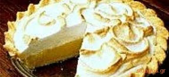 Αλλιώτικη τάρτα λεμόνι για λιτοδίαιτους - Συνταγές μαγειρικής & ζαχαροπλαστικής