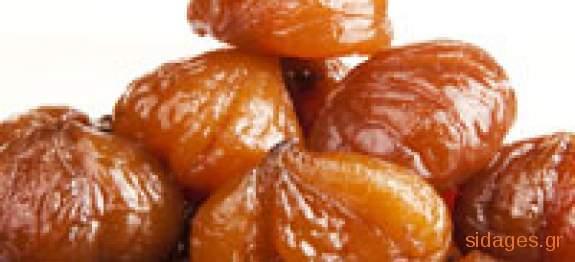 Μαρόν γλασσέ με κάστανο  - www.sidages.gr