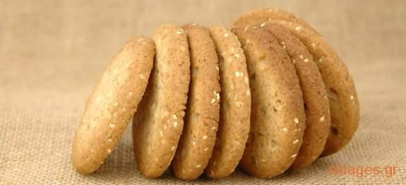 Μπισκότα λεμονιού με ινδική καρύδα και αμύγδαλα