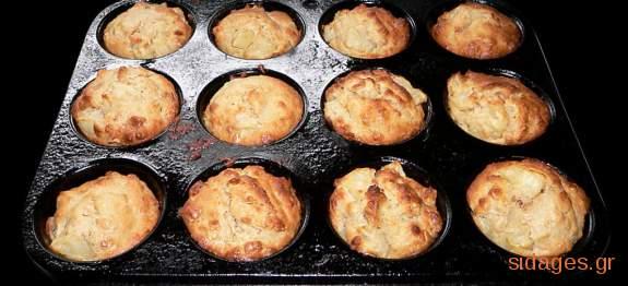 Μάφινς με γλυκιά κολοκύθα - Helloween muffins