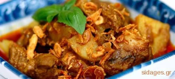 Αρνάκι με κάστανo  - www.sidages.gr