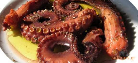 Χταπόδι κρασάτο - συνταγές μαγειρικής - θαλασσινά