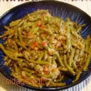 Φασολάκια πράσινα γιαχνί - www.sidages.gr