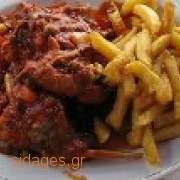 Κουνέλι στιφάδο - www.sidages.gr