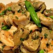 Αγκινάρες α λα πολίτα - συνταγές μαγειρικής - λαχανικά