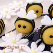 Αμυγδαλόπαστα - γλυκά φτιαγμένα με marzipan