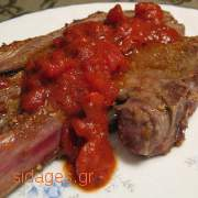 Αρνί με πατάτες ραγού - www.sidages.gr