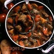 Μοσχαράκι μπουργκινιόν - www.sidages.gr