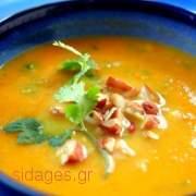 Καροτόσουπα - συνταγές μαγειρικής - σούπες
