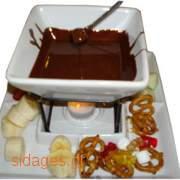 Σοκολάτα Fondue - συνταγές μαγειρικής & ζαχαροπλαστικής - σοκολάτα - γλυκά