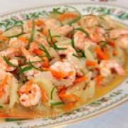 Γαρίδες Σαγανάκι - www.sidages.gr