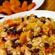 Γέμιση γαλοπούλας με ρύζι και βερίκοκο - συνταγές μαγερικής - www.sidages.gr