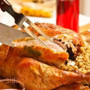 Γέμιση γαλοπούλας με ρύζι και κιμά - συνταγές μαγερικής - www.sidages.gr