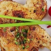 Ψητό κοτόπουλο με σκόρδο και μυρωδικά - συνταγές μαγειρικής & ζαχαροπλαστικής