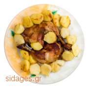 Κοτόπουλο με πατάτες στο φούρνο - συνταγές μαγειρικής