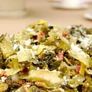 Κρητικά χορταρικά σύβραστα - συνταγές μαγειρικής
