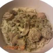 Λευκή σάλτσα μανιταριών - www.sidages.gr