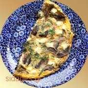 Ομελέτα με μανιτάρια λαχανικά - συνταγές μαγειρικής