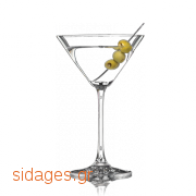 Κοκτέιλ Dirty Martini - www.sidages.gr