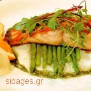 Ψητός σολομός - συνταγές μαγειρικής - θαλασσινά