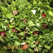 Σαλάτα ρόκα παρμεζάνα