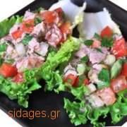 Σαλάτα με τόνο Νισουάζ - www.sidages.gr