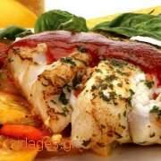 Σφυρίδα πλακί - ψάρι στο φούρνο - συνταγές μαγειρικής