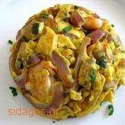 Ομελέτα με γαρίδες - συνταγές μαγειρικής