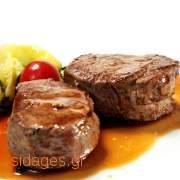 Μπριζόλες μοσχαρίσιες με κρέμα και κρασί Πόρτο - www.sidages.gr
