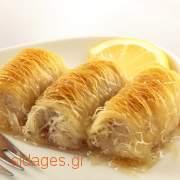Εκμέκ κανταΐφι - Πολίτικο - συνταγές μαγειρικής - σιροπιαστά