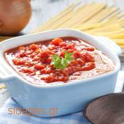 Σάλτσα ντομάτας κονκασέ - www.sidages.gr
