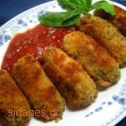 Κροκέτες σπανάκι - www.sidages.gr