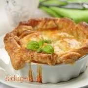 Σουφλέ πράσου με γραβιέρα - συνταγές μαγερικής - www.sidages.gr