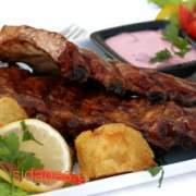Χοιρινές μπριζόλες στο grill - συνταγές μαγειρικής - κρέατα