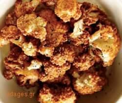 Κουνουπίδι πανέ - www.sidages.gr