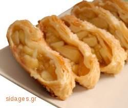 Στρούντελ με μήλα - www.sidages.gr