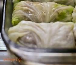 Λαχανοντολμάδες - www.sidages.gr