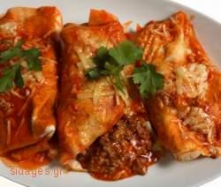Enchilladas κοτόπουλο - συνταγές μαγερικής - www.sidages.gr