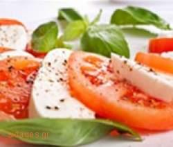 Σαλάτα caprese - www.sidages.gr