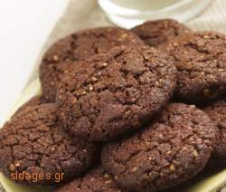 Μπισκότα με ψηφίδες σοκολάτας - συνταγές ζαχαροπλαστικής