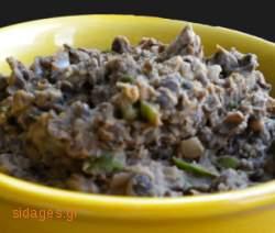 Πουρές φασολιών - συνταγές μαγειρικής - όσπρια
