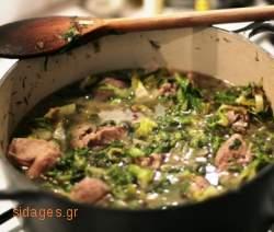 Αρνί φρικασέ - συνταγές μαγειρικής - αρνία