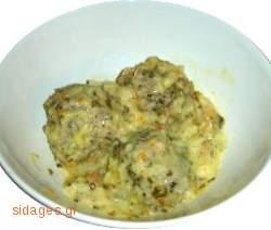 Γιουρβαλάκια αυγολέμονο - www.sidages.gr